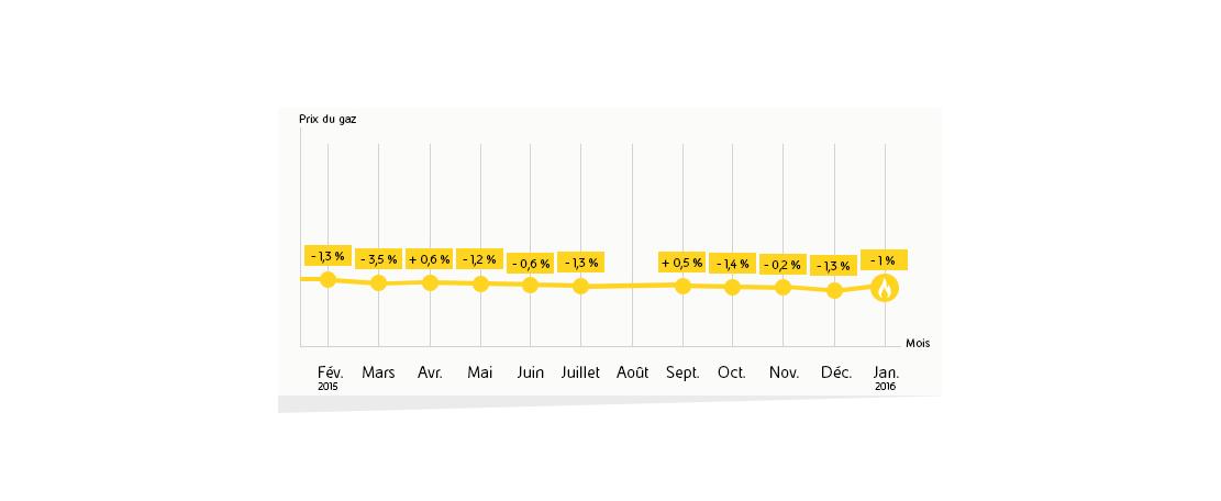 Prix du gaz en 2015 le bilan annuel eni for Prix du gaz naturel